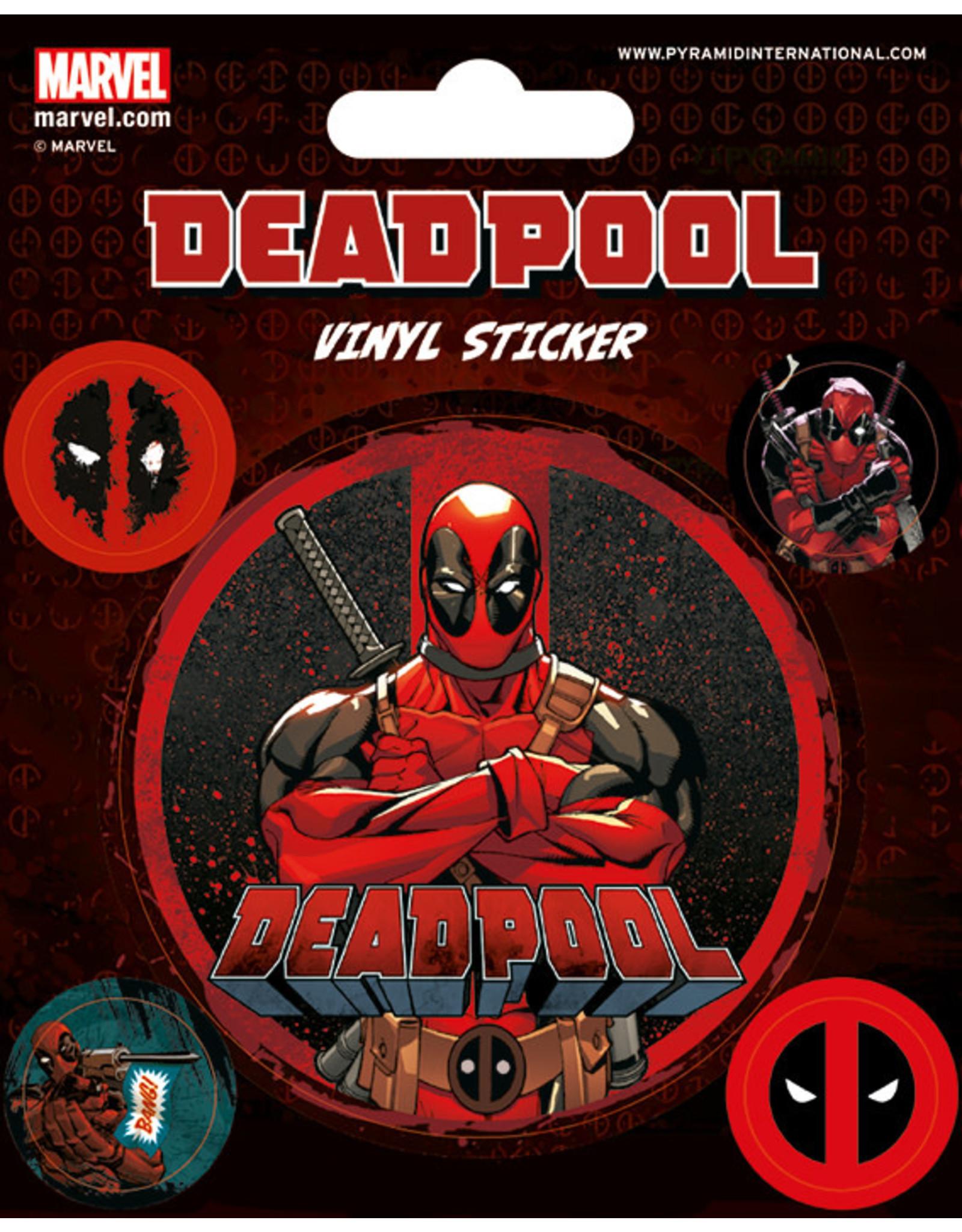 DEADPOOL Vinyl Stickers - Deadpool