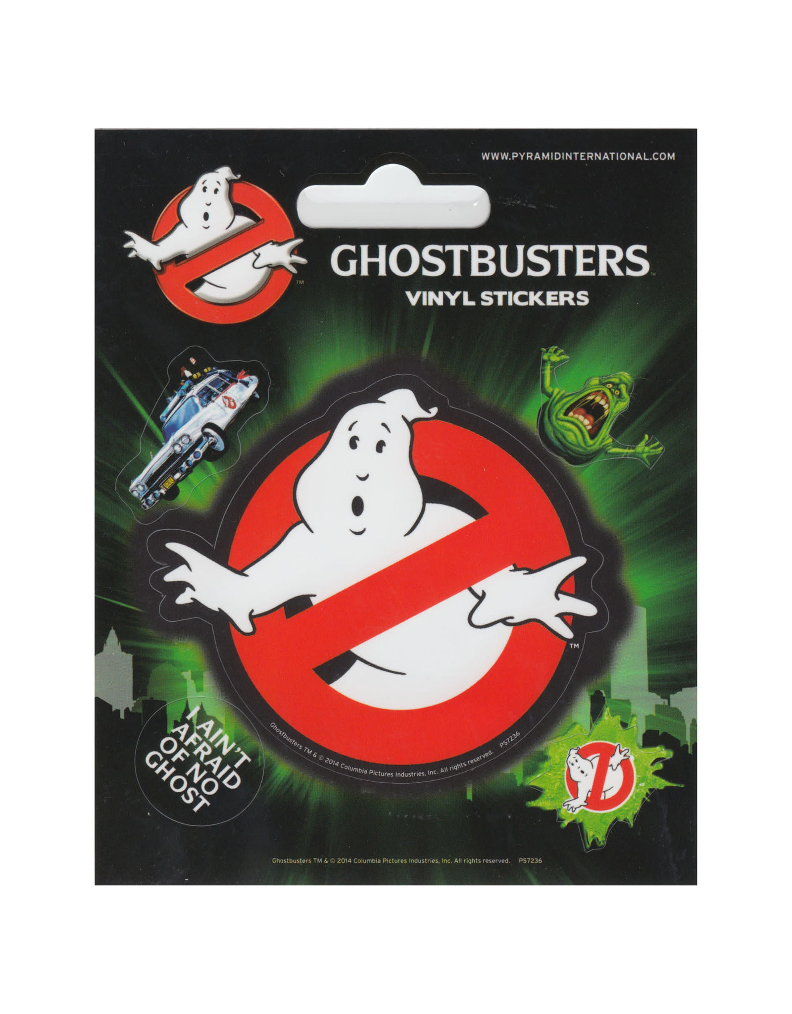 GHOSTBUSTER - Vinyl Stickers - Logo