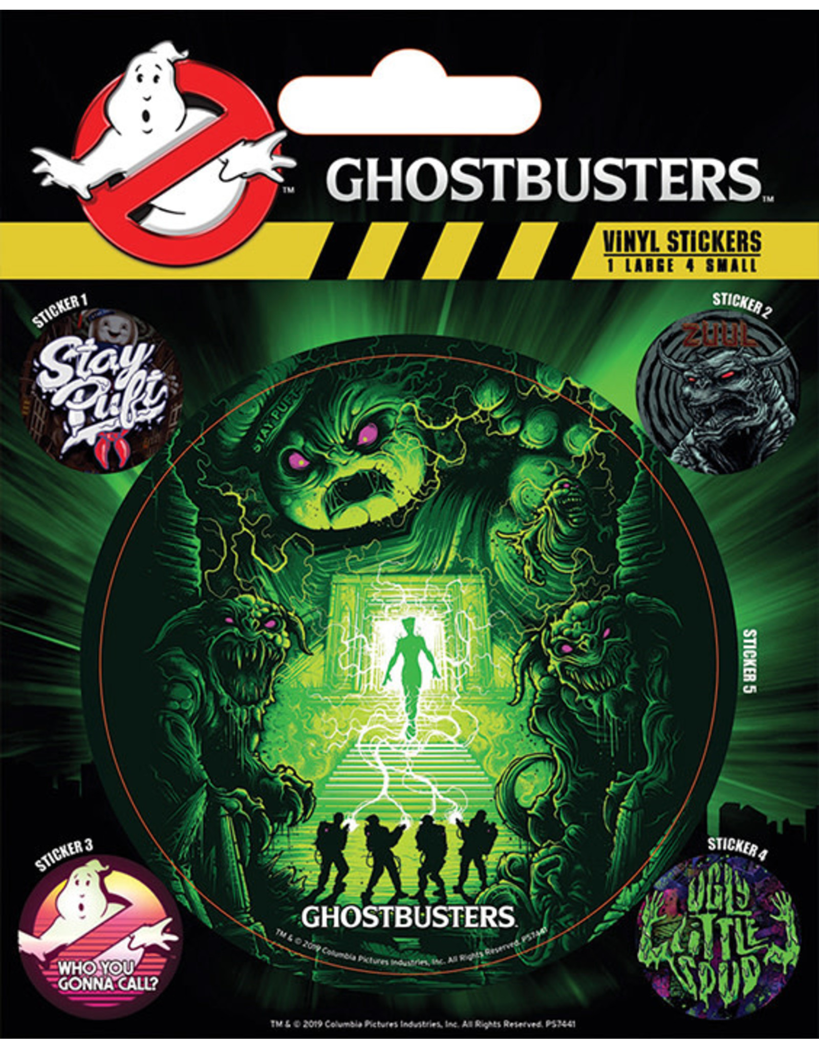 GHOSTBUSTERS - Ghosts and Ghouls - Vinyl Stickers