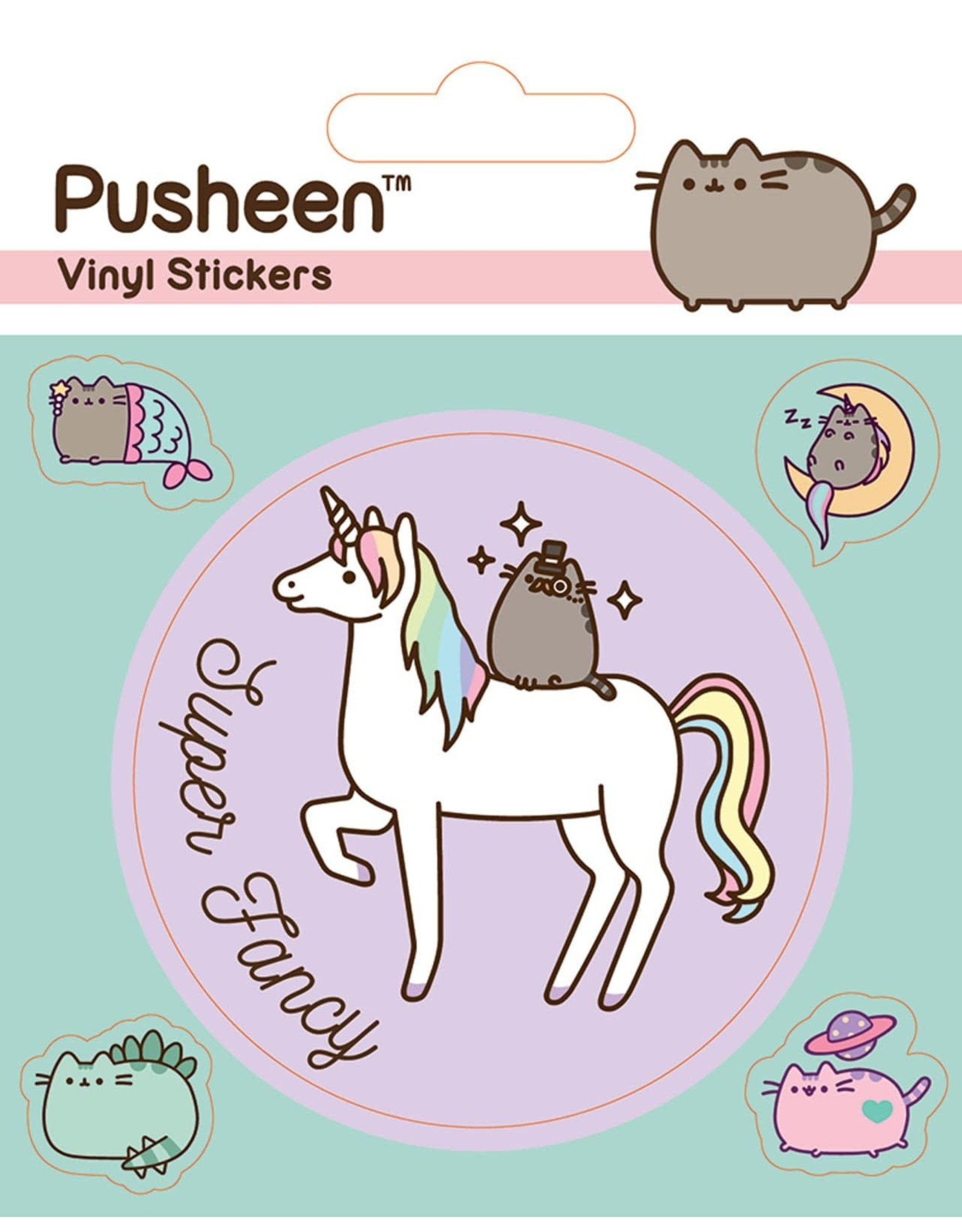 PUSHEEN Vinyl Stickers - Mythical