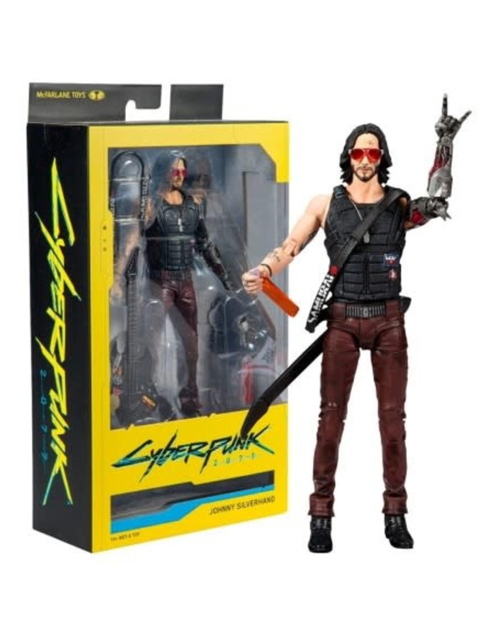 CYBERPUNK 2077 - Action Figure 18cm - Johnny Silverhands