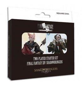 Square-Enix FINAL FANTASY TCG 2 Player Starter Set Display (6 Sets) - Final Fantasy XIV Shadowbringers  (UK)