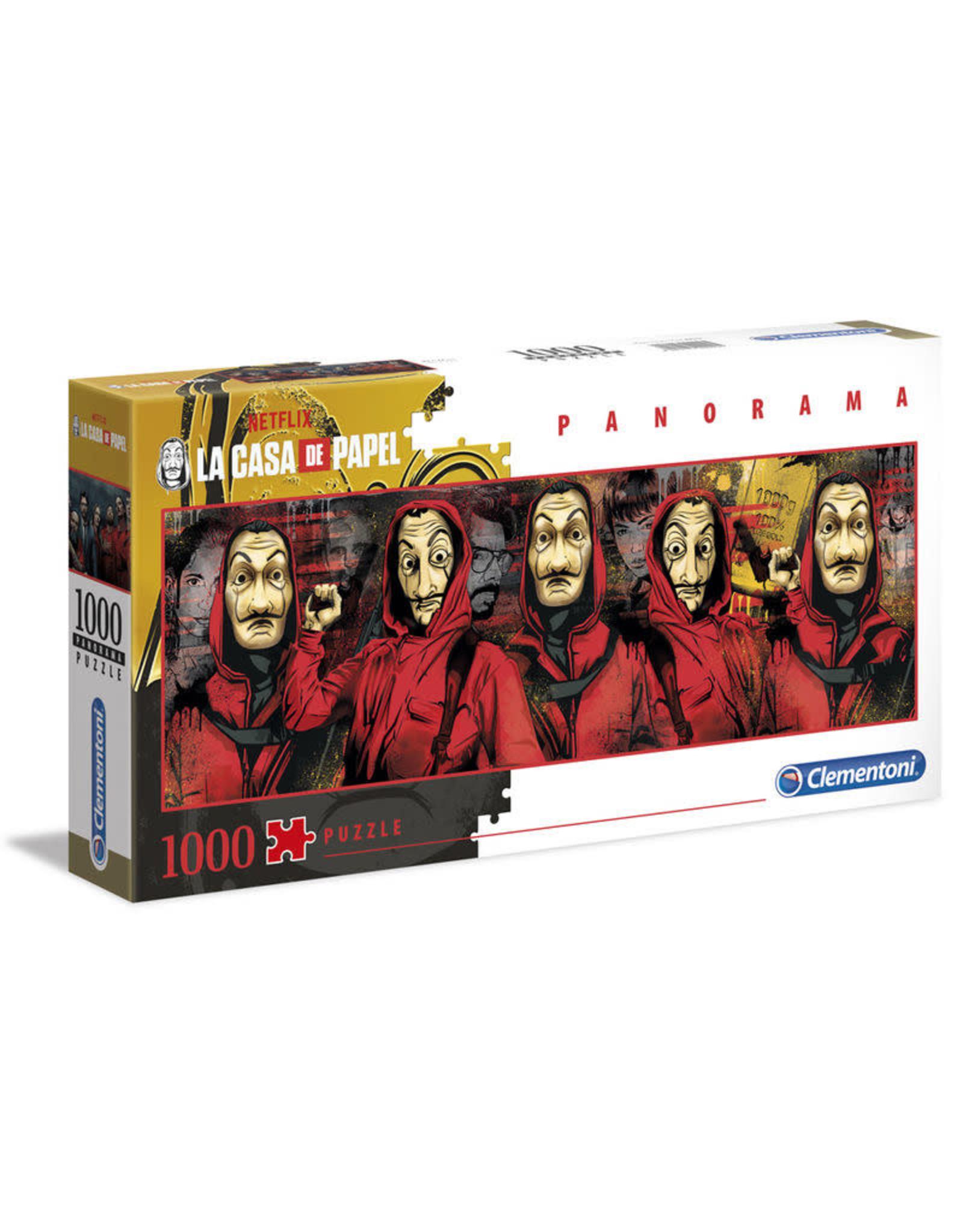 Clementoni CASA  DE PAPEL Puzzle 1000P - Panorama