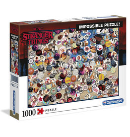 Clementoni STRANGER THINGS Impossible Puzzle 1000p