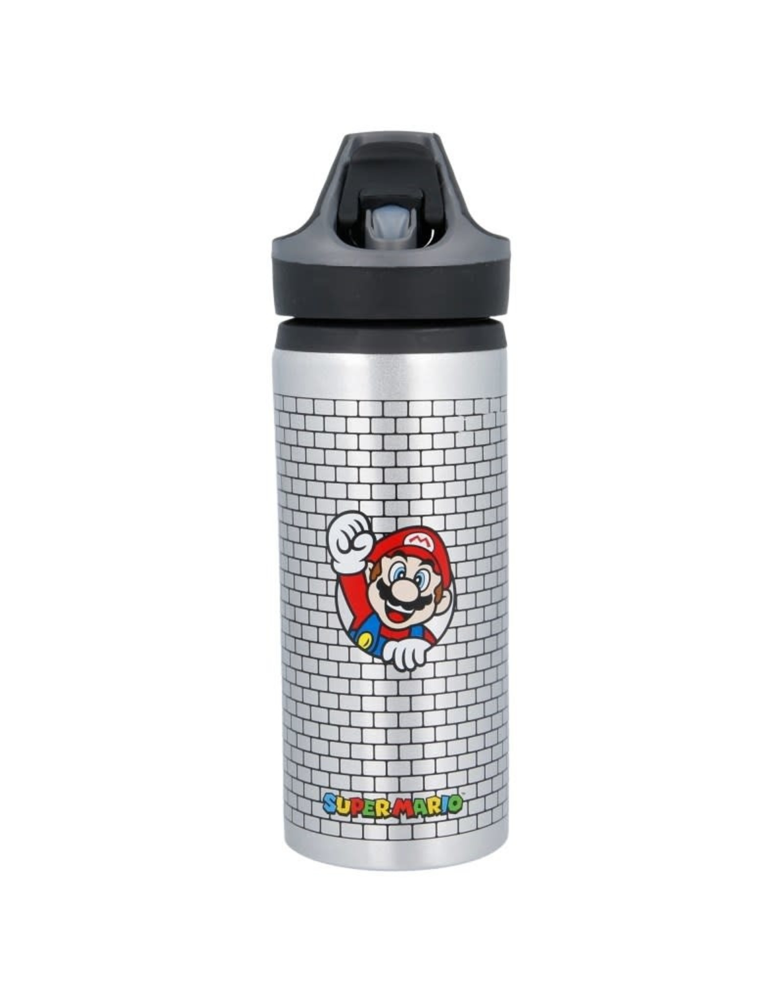 Stor SUPER MARIO Premium Aluminium Bottle 600ml