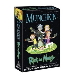 USAopoly RICK AND MORTY Munchkin (UK)