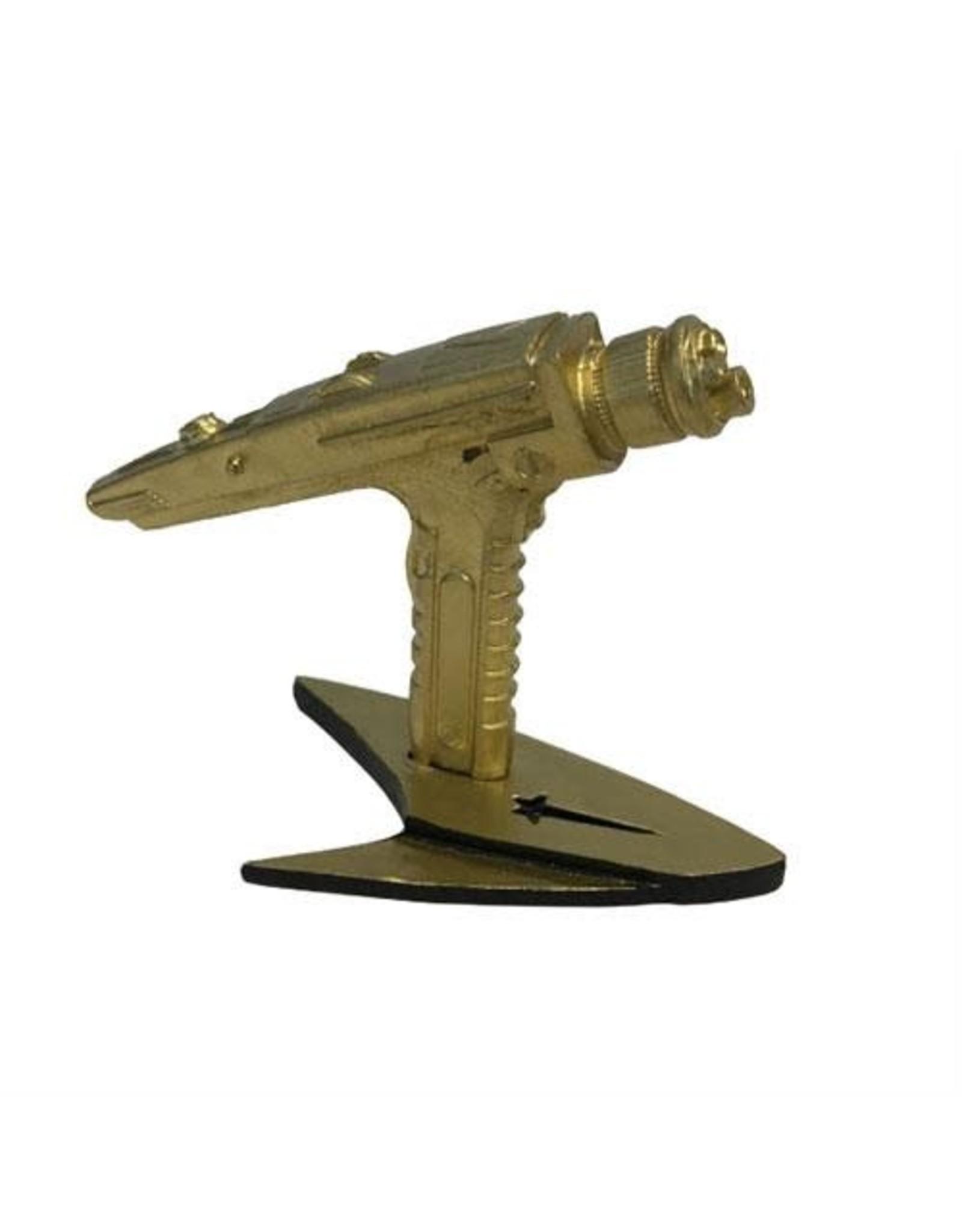 Factory Entertainment STAR TREK Mini Replica 5cm - Starfleet Hand Phaser Gold Variant SDCC 2019