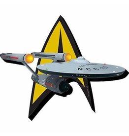 Aquarius Ent STAR TREK Magnet - Ship & Logo