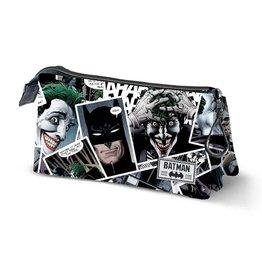 JOKER Triple Pencil Case - Batman