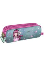 GORJUSS Triple Pencil Case - Cherry Blossom