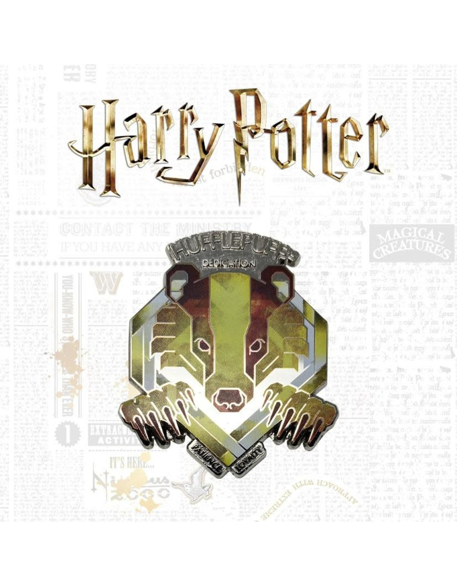 HARRY POTTER Limited Edition Pin - Hufflepuff