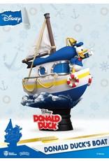 Beast Kingdom DONALD DUCK D-Select Diorama 15cm - Boat