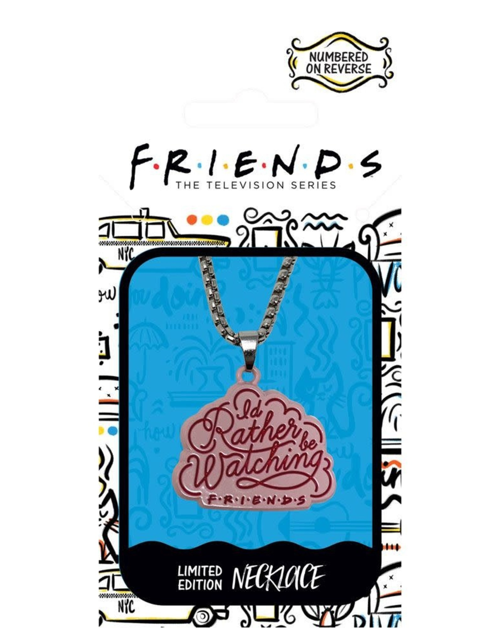 FRIENDS Limited Edition Necklace - I'd Rather Be Watching