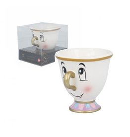 Stor BEAUTY AND THE BEAST 3D Mug  - Chip Gold
