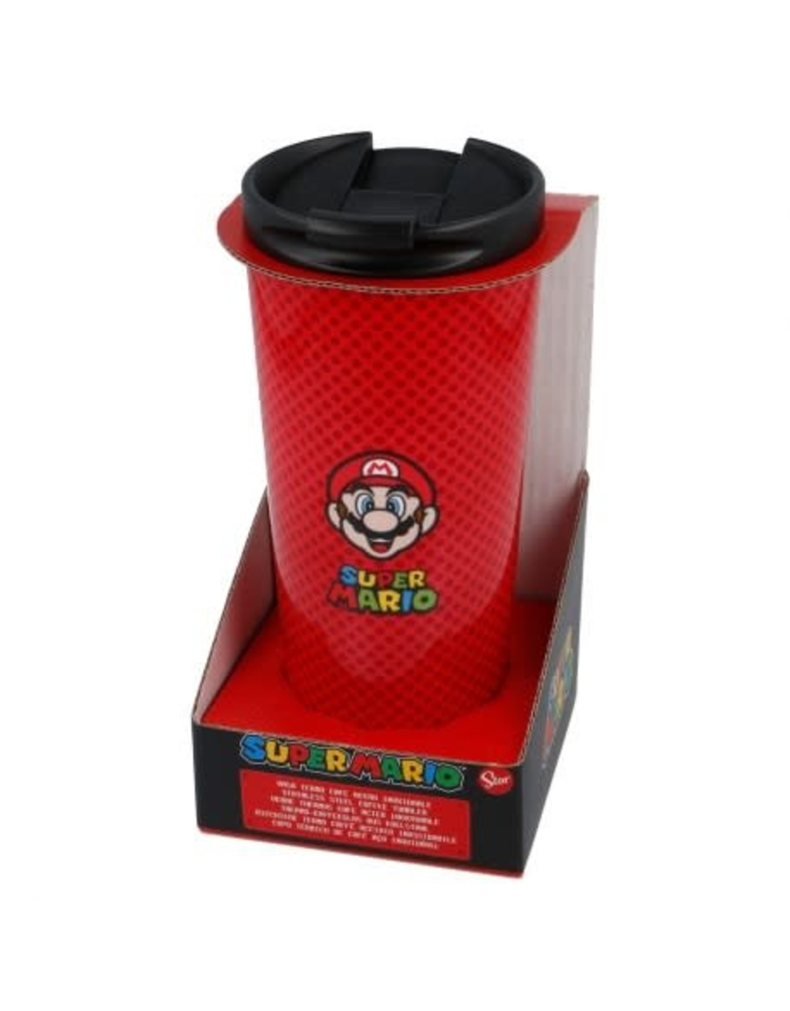 SUPER MARIO Stainless Steel Travel Mug 425ml