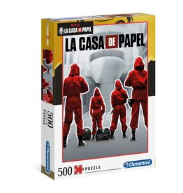 Clementoni CASA  DE PAPEL Puzzle 500P - Overall