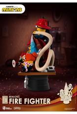 Beast Kingdom MINIONS D-Stage Diorama 15cm - Fire Fighter