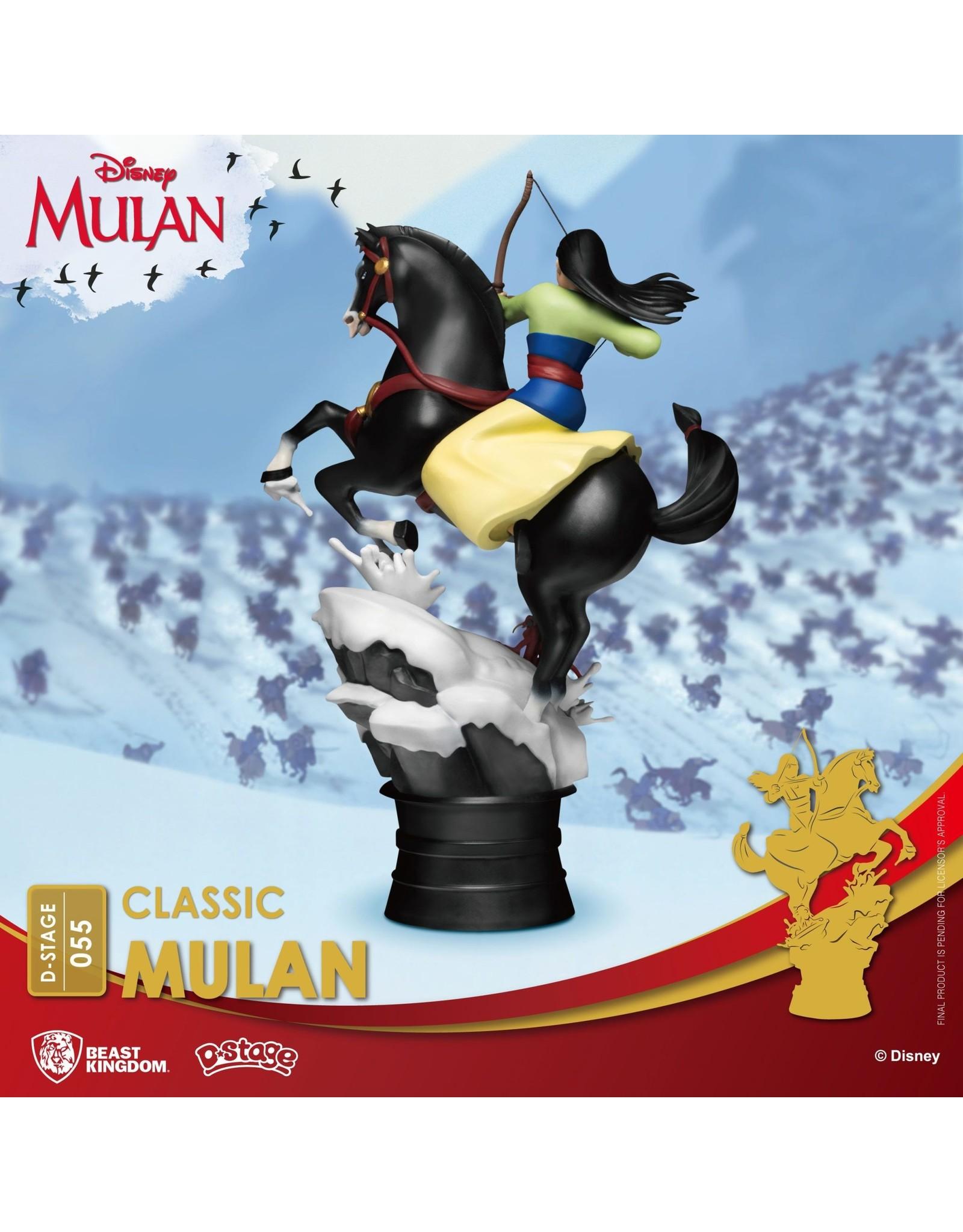 Beast Kingdom DISNEY D-Stage Diorama 18cm - Mulan
