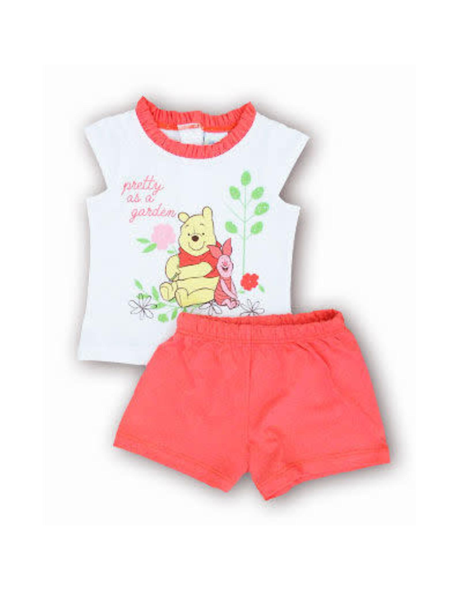 WINNIE THE POOH Baby Pyjamas - Pretty as a garden