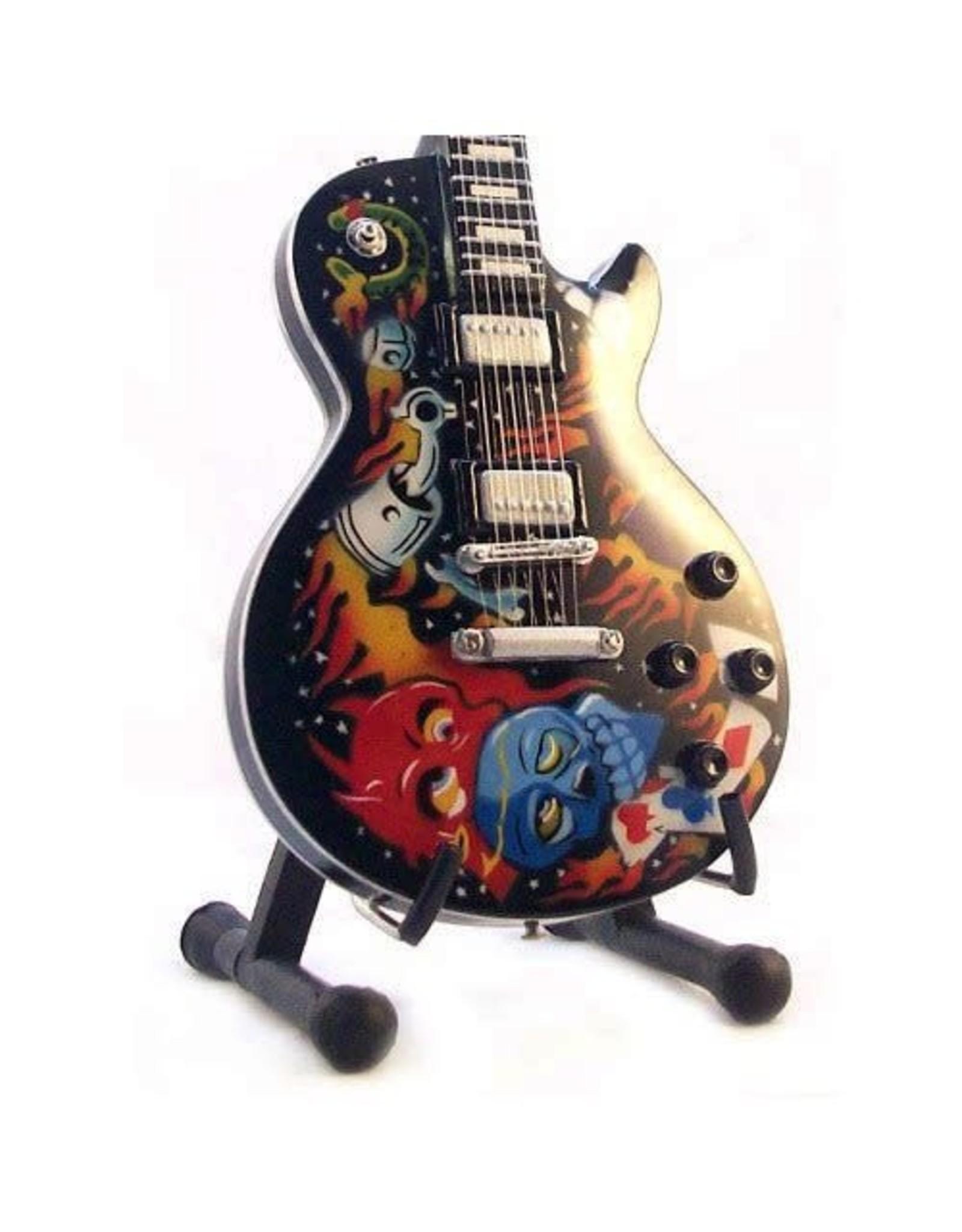 Music Legends METALLICA Mini Guitar - Hetfield Skull