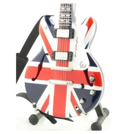 Music Legends OASIS Mini Guitar - Noel Gallagher Union Jack