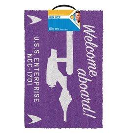 Pyramid International STAR TREK Doormat 40x60 - Welcome Aboard