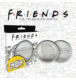 FaNaTtik FRIENDS Set of 4 Metal coasters - Central Perk