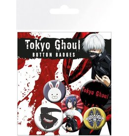TOKYO GHOUL 6-Pack Badges - Mix