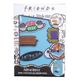 BlueSky Studios FRIENDS Notebook A5 Premium - Patches