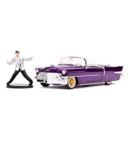 Jada Toys ELVIS PRESLEY Diecast Model 1:24 - 1956 Cadillac Eldorado with Figure