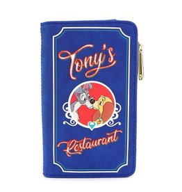 Loungefly LADY AND THE TRAMP Wallet - Tony's Restaurant