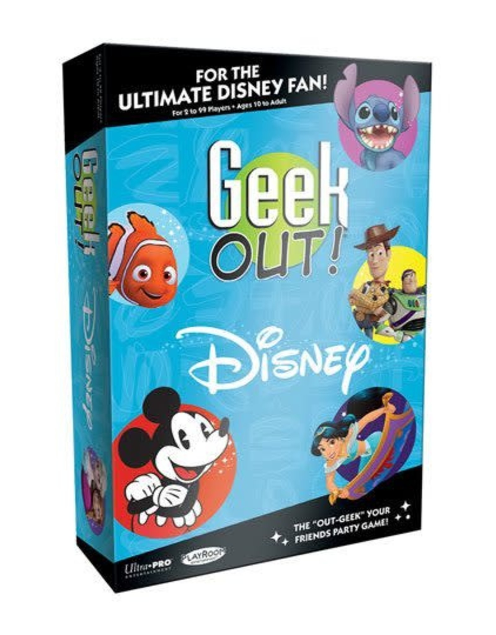 USAopoly DISNEY Geek Out! Party Game (UK)