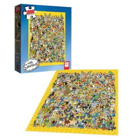 USAopoly THE SIMPSONS Puzzle 1000P - Cast Of Thousands
