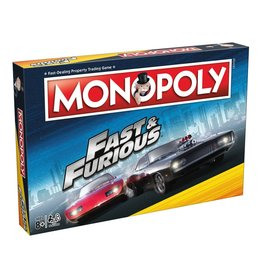 Winning Moves FAST & FURIOUS Monopoly (UK)