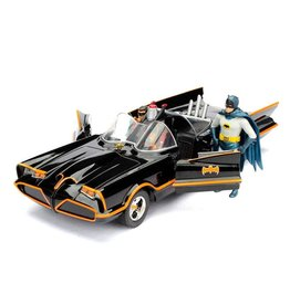 Jada Toys BATMAN Scale model 1:24 -1966 Batmobile