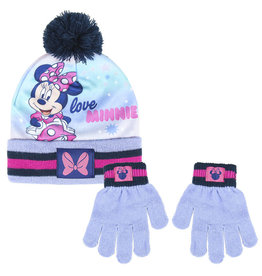Cerda MINNIE MOUSE Kids Hat and Gloves Set
