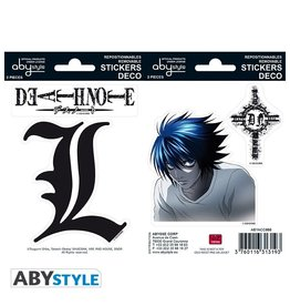 ABYstyle Death Note Stickers 16x11cm / 2 Sheets - L