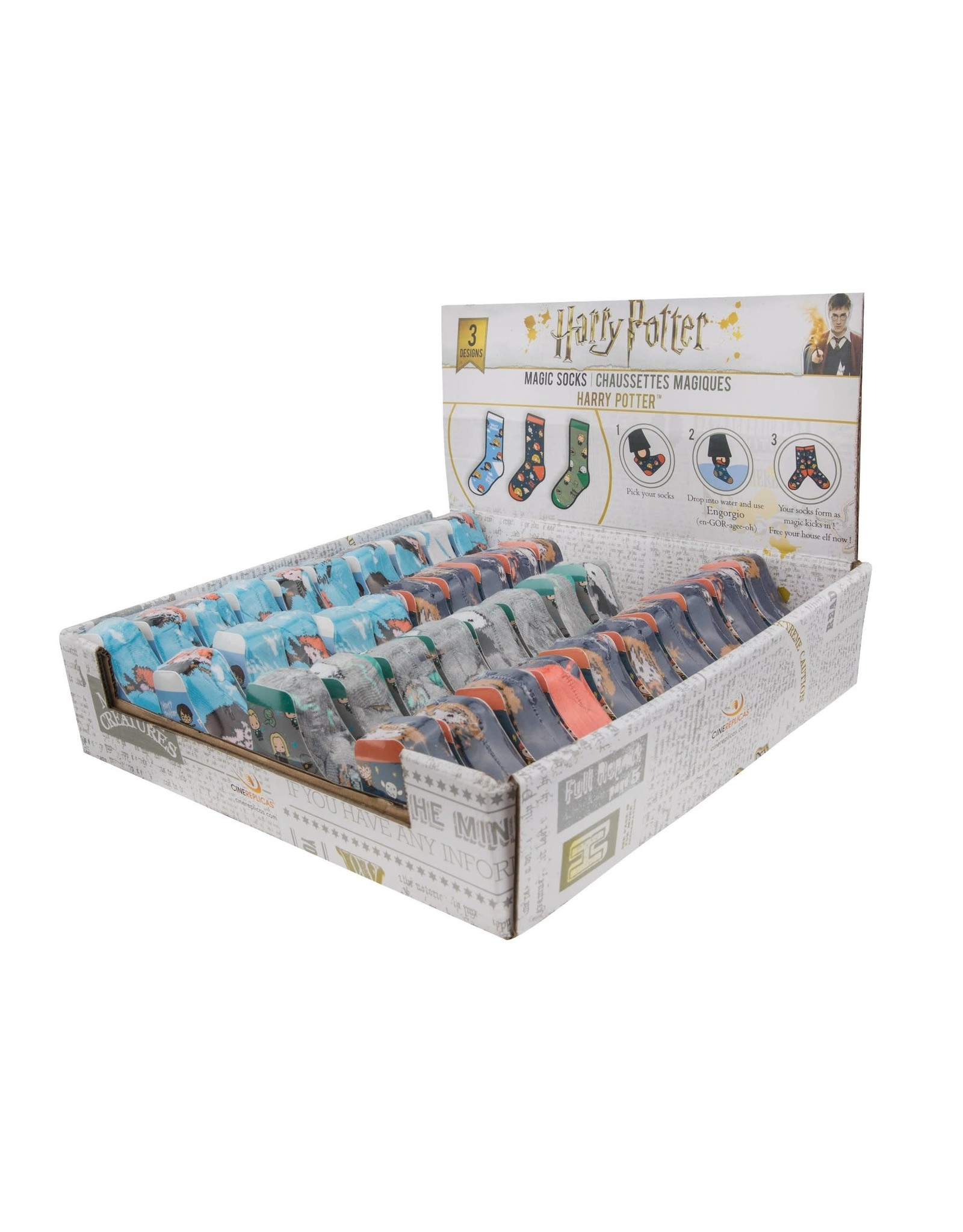 Cinereplicas HARRY POTTER Magic Socks (1pc)