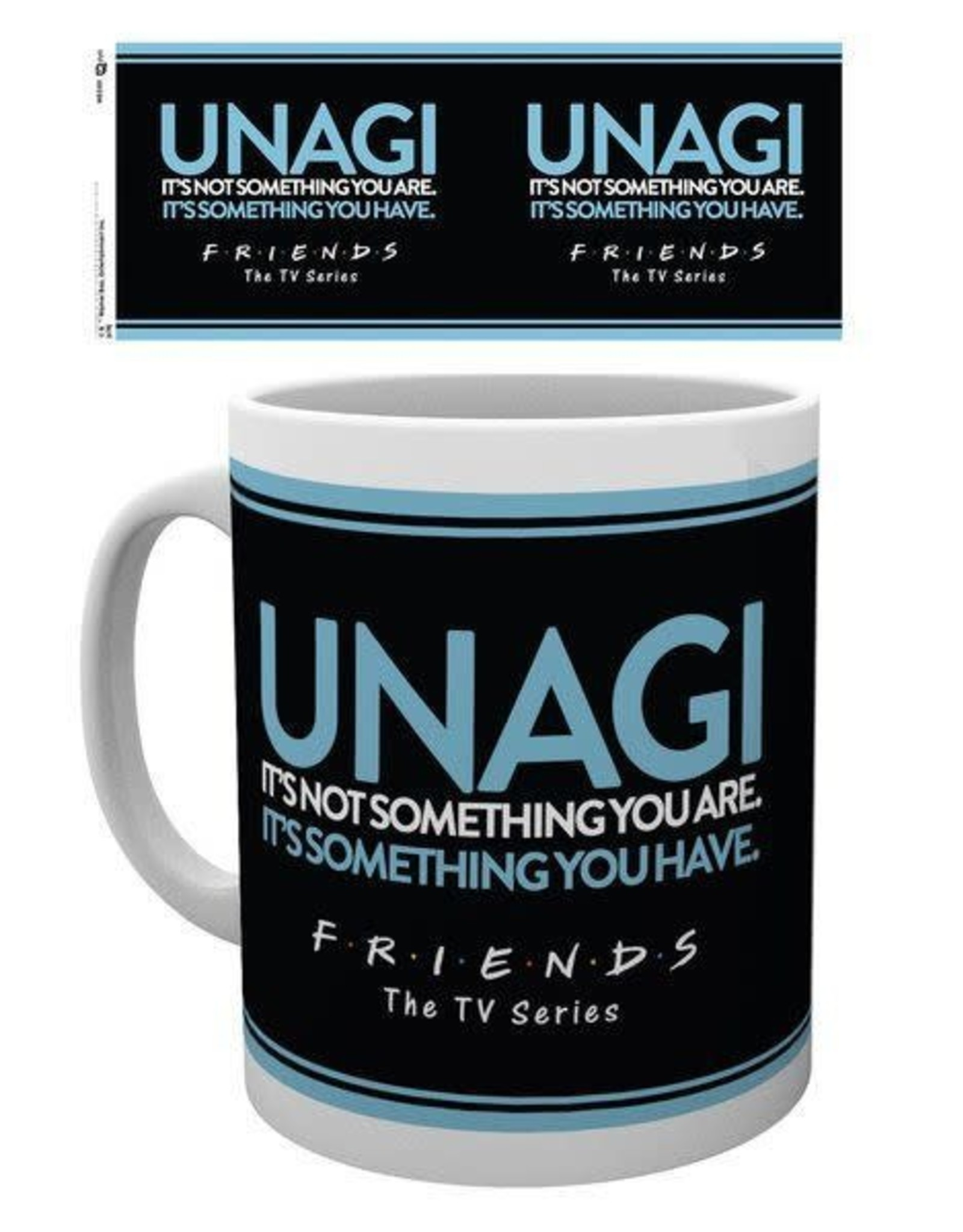 Hole in the Wall FRIENDS Mug - Unagi