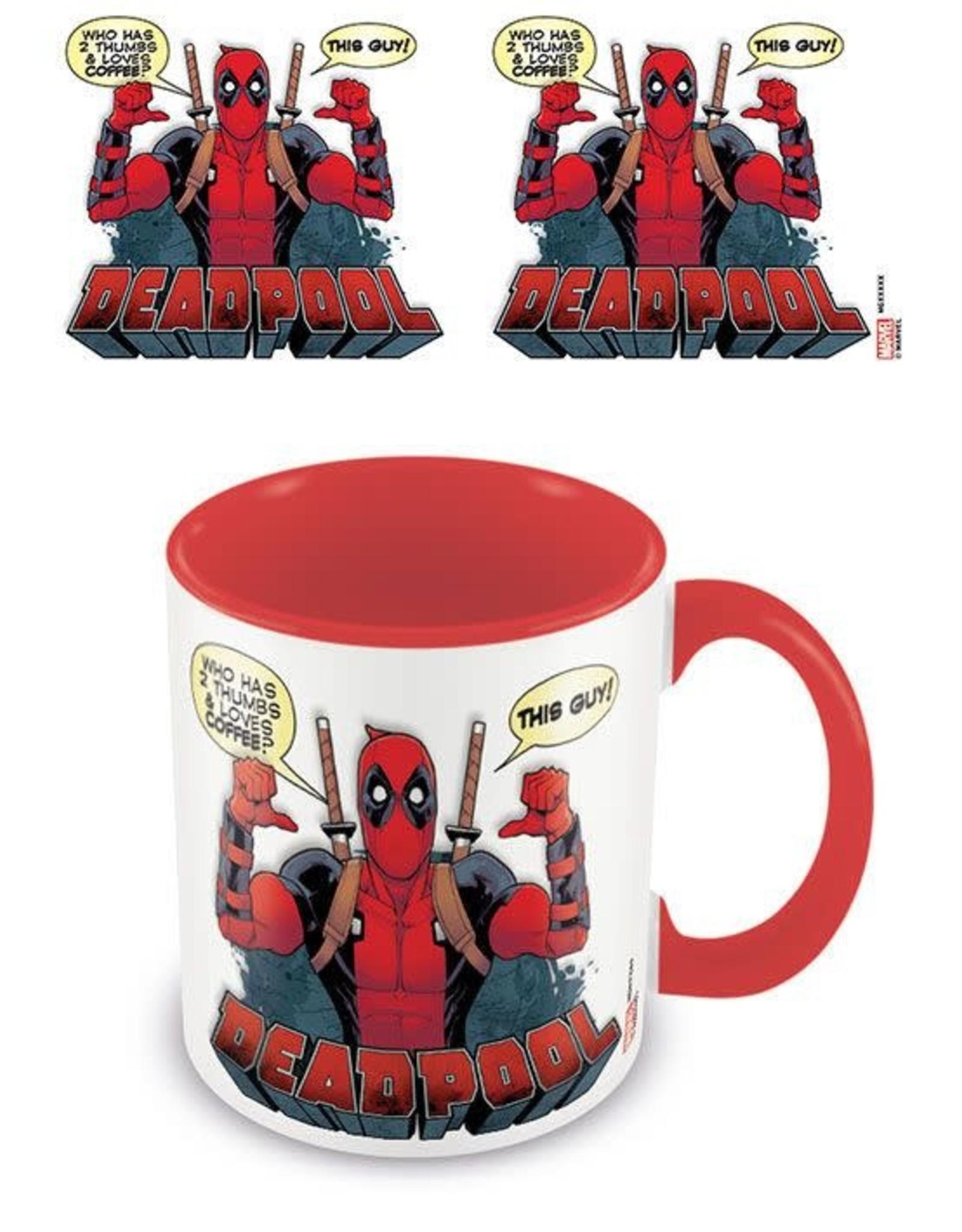 Pyramid International DEADPOOL Coloured Inner Mug - 2 Thumbs