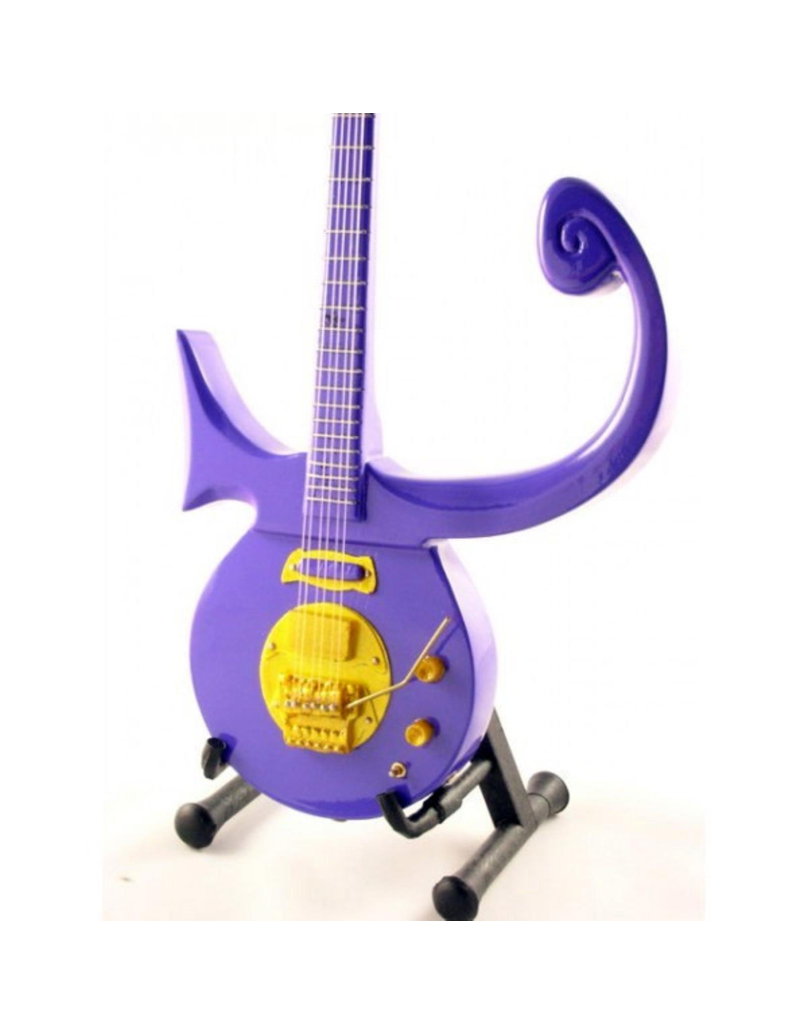 Music Legends PRINCE Mini Guitar - Purple Symbol