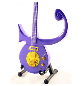 Music Legends PRINCE Mini Guitar - Purple Symbol