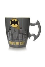 BATMAN Shaped Mug - City Scene