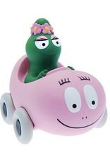 Plastoy BARBAPAPA Money Box - Barbalala with Car