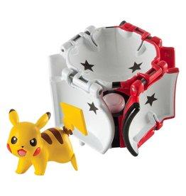 Tomy POKEMON Throw 'n' Pop Poké Ball - Pikachu