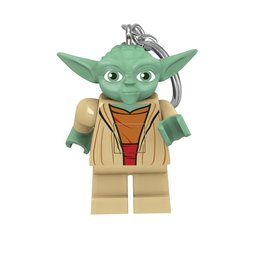 Joy Toy STAR WARS LEGO Light up Keychain 6cm - Yoda