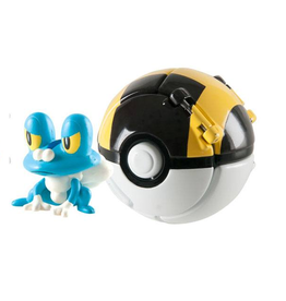 Tomy POKEMON Throw 'n' Pop Poké Ball - Froakie