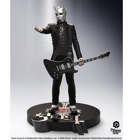 Knucklebonz GHOST Rock Iconz Statue 23cm  - Nameless Ghoul Black Guitar