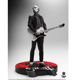 Knucklebonz GHOST Rock Iconz Statue  - Nameless Ghoul White Guitar