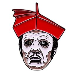 Trick or Treat Studios GHOST Enamel Pin - Cardinal Copia